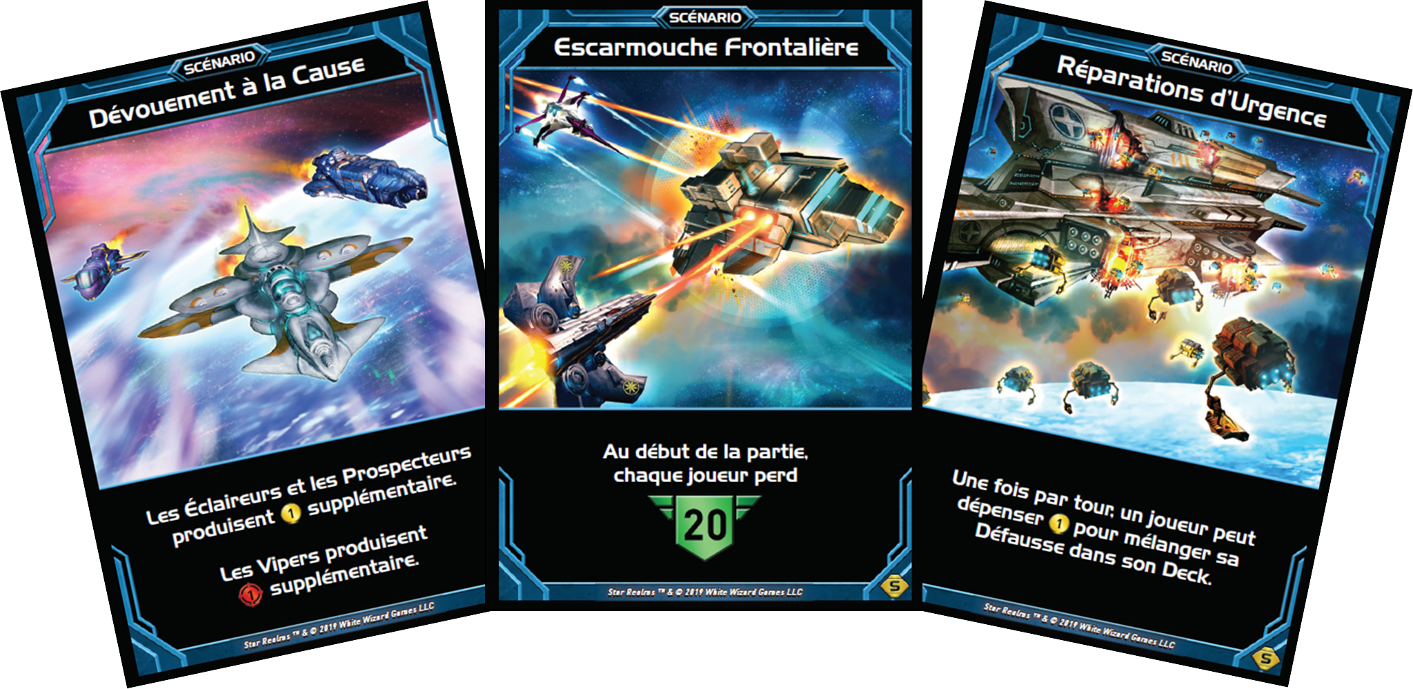 Star Realms - Scenarios - Cartes